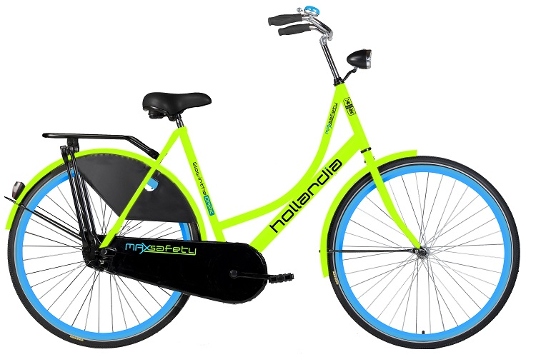 Glow in the dark fiets