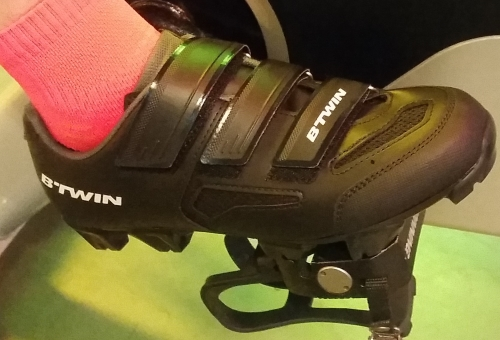 B'Twin Mountainbike schoenen