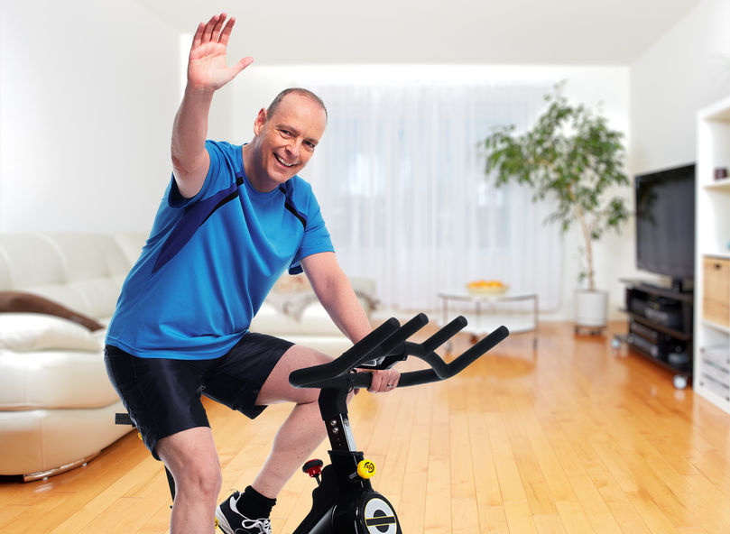 Thuis fietsen