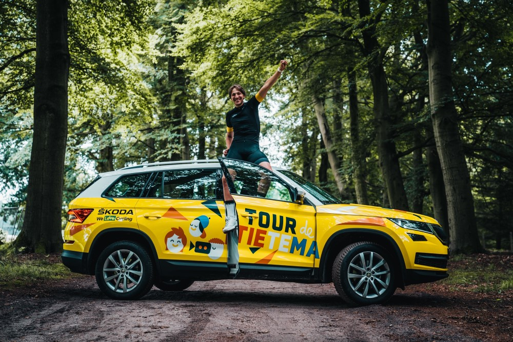 Tour de Tietema gaat de uitdaging aan: 50 dagen als prof!